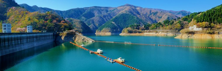 Lake-Okutama-ko